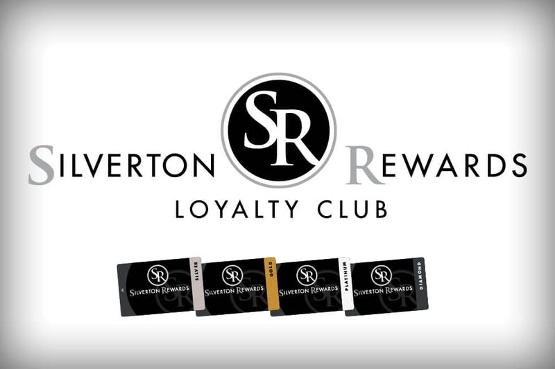 Silverton Rewards Loyalty Club; Silverton Rewards